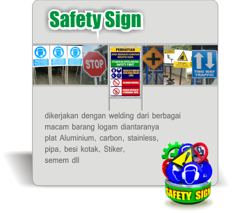 safety sign kecil